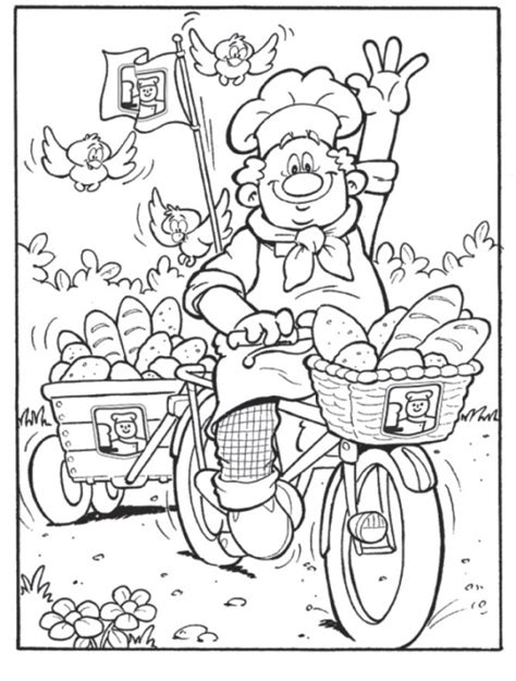 baker coloring pages preschool baker coloring pages preschool baker best free coloring