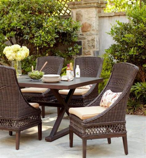 Woodbury 7 Patio Dining Set by Hton Bay Woodbury 7 Patio Dining Set With