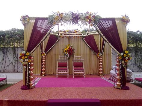 Decoration Pictures by Simple Hindu Wedding Stage Decoration Decoration