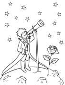 Desenhos de O Pequeno Príncipe para colorir - Páginas de