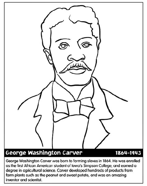 george washington coloring pages best coloring pages for george washington carver coloring page az coloring pages