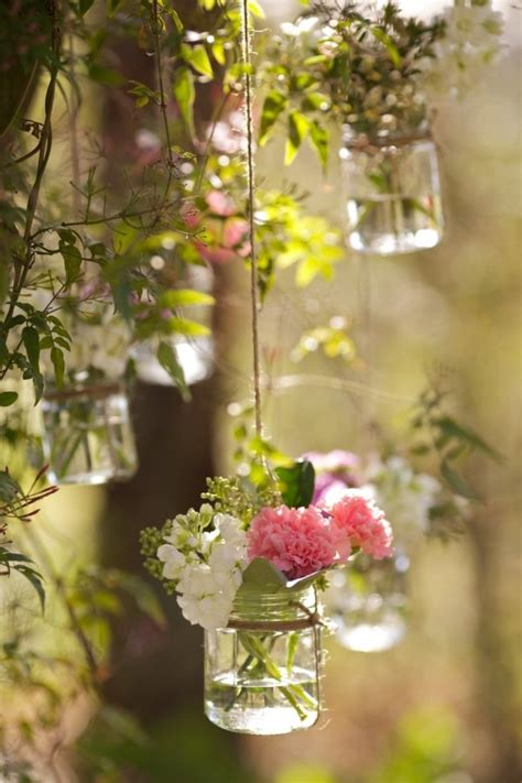 Hanging Vases by Beautiful Hanging Vases For Summer Weddings