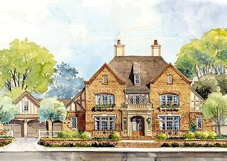 english country house plans classic english country home plan