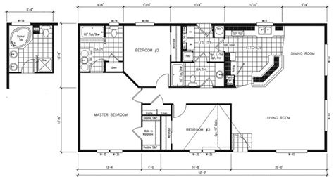 simple small house floor plans manufactured home floor
