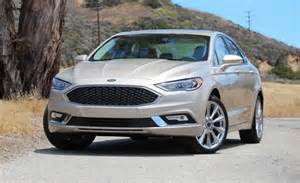2017 ford fusion platinum first drive review car and driver