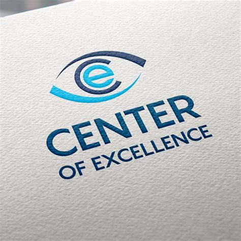 center of excellent center of excellence logo design contest