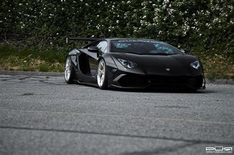 Auto Tuning Bersetzung by Sr Lamborghini Aventador With Liberty Walk Kit And Awesome
