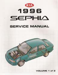 1996 kia sephia factory service manual 2 volume set