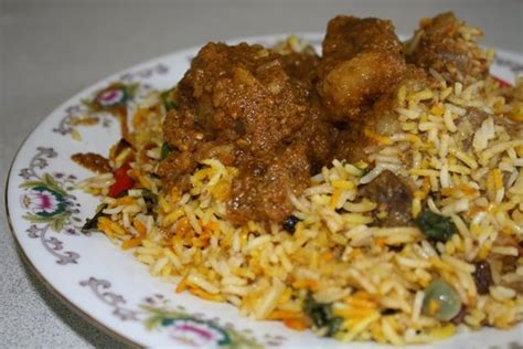 Nasi Briyani Biryani Kambing Promo cooking time kambing masak beriani langkah langkah memasak