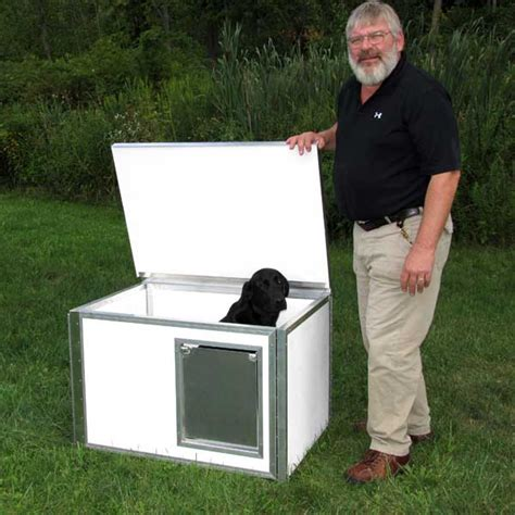 insulated dog house kits dog houses lifesaver styrofoam insulated dog house kit