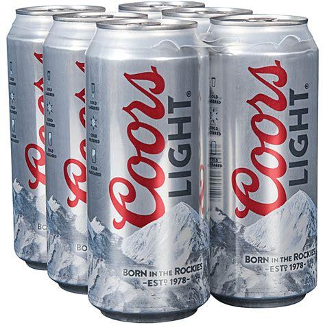 16 oz coors light applejack coors light 6pk 16 oz cans