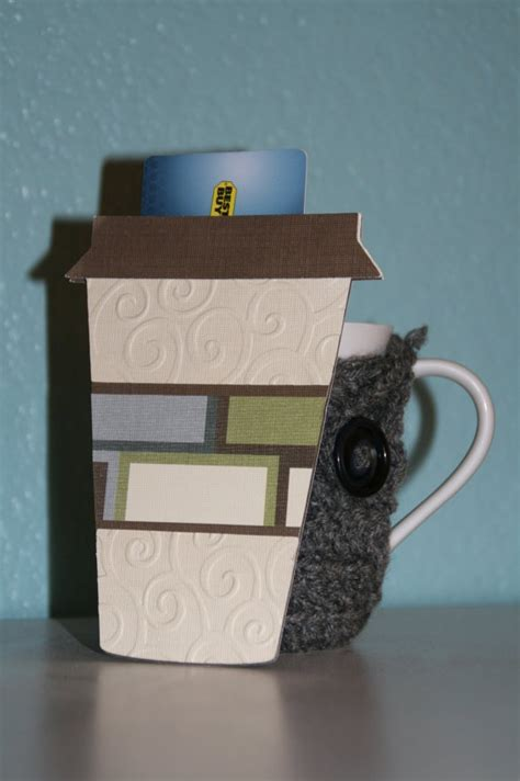 Coffee Gift Card Holder - 27 best images about coffee cup gift card holder on pinterest
