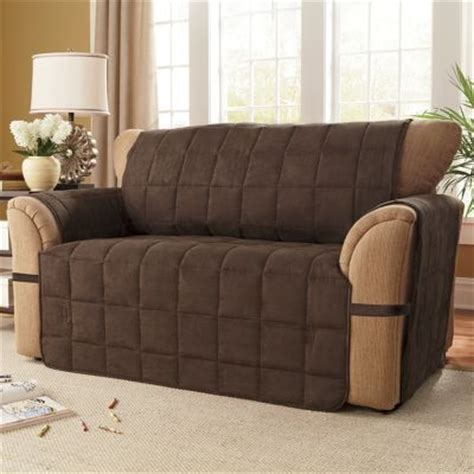 Ultimate Furniture by Box Quilted Faux Suede Ultimate Furniture Protectors From