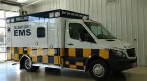 Mercedes Emergency Service Mercedes Sprinter Ambulance To Callaway County Ems