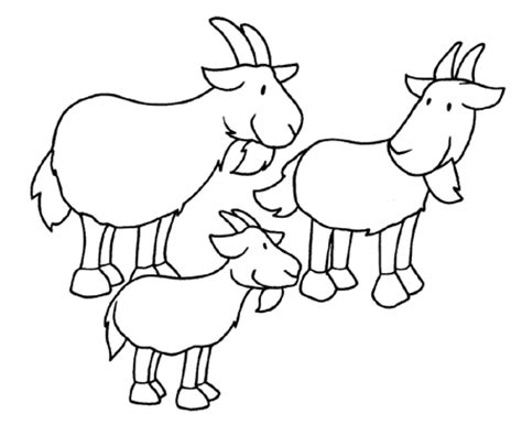 Billy Goats Gruff Coloring Pages Coloring Home Three Billy Goats Gruff Coloring Page