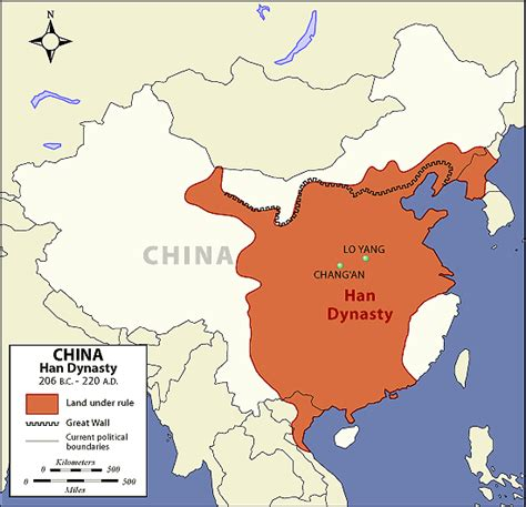 map of ancient china ancient dynasty ancient han dynasty map