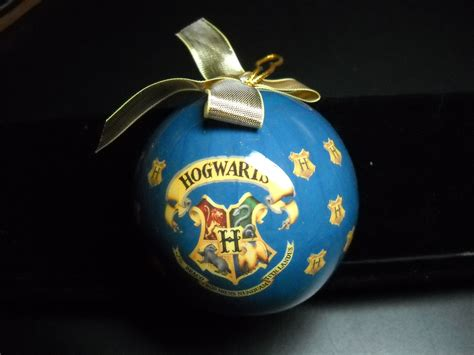 enesco harry potter hogwarts hanging christmas ornament