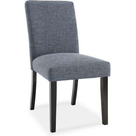 dhi frankfurt upholstered parsons dining chair walmartcom