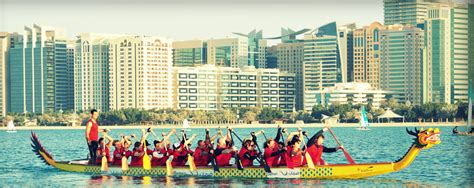 dragon boat racing how to dragon boat racing in abu dhabi what s on