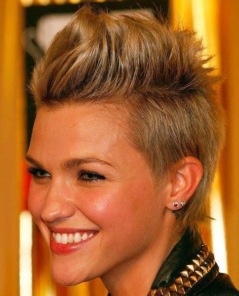 short faux hawk hairstyles for women short haircut 2013 fauxhawk hairstyle for women