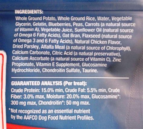 blue buffalo food ingredients blue buffalo s blue bones