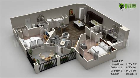3d plan 3d floor plan design interactive 3d floor plan yantram studio