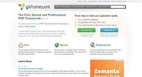 yii framework layout tutorial yii framework