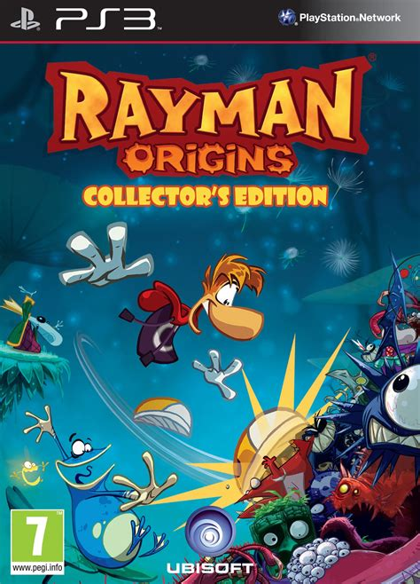 Ramen Cihelas rayman origins box for playstation 3 gamefaqs