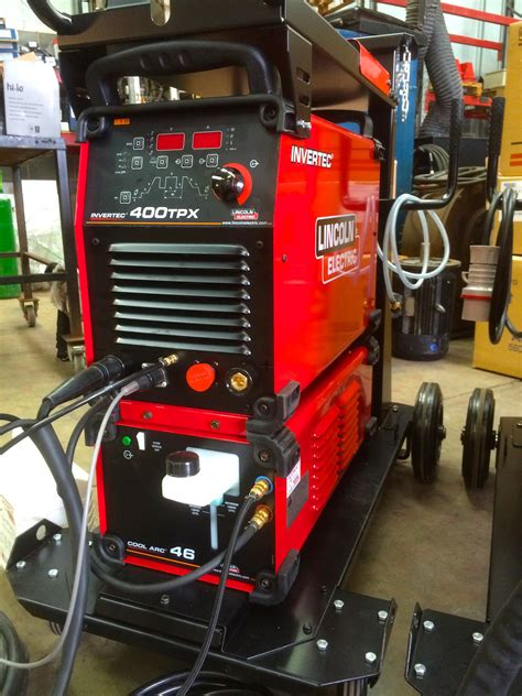 lincoln welding machine lincoln electric invertec 400tpx cool arc 46 water