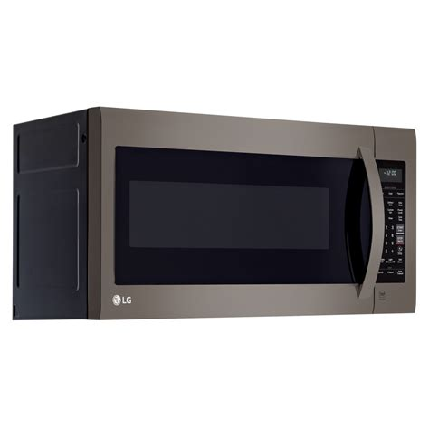 Microwave Oven Lg lmv2031bd lg appliances 2 0 cu ft 1000w the range