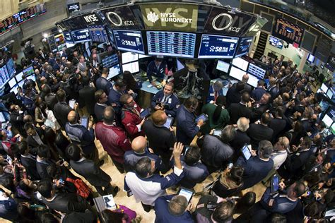 Stock Market Floor by Struggling Nyse Lobbies Against High Frequency Trading