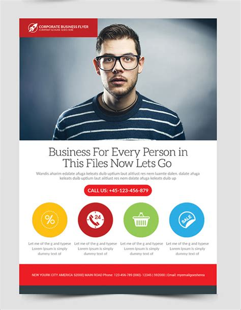 20 fabulous free business flyer templates free
