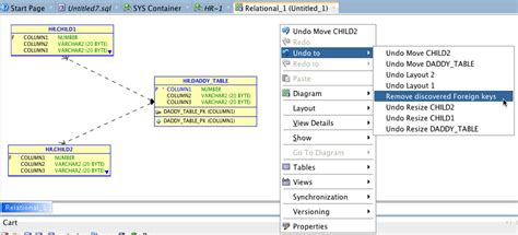 Oracle Create Table Primary Key by Discovering Foreign In Oracle Sql Developer Data