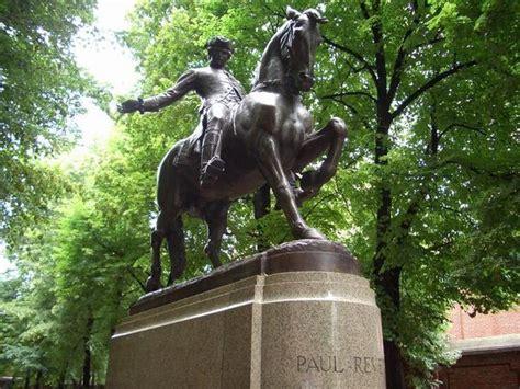 statue  paul revere photo
