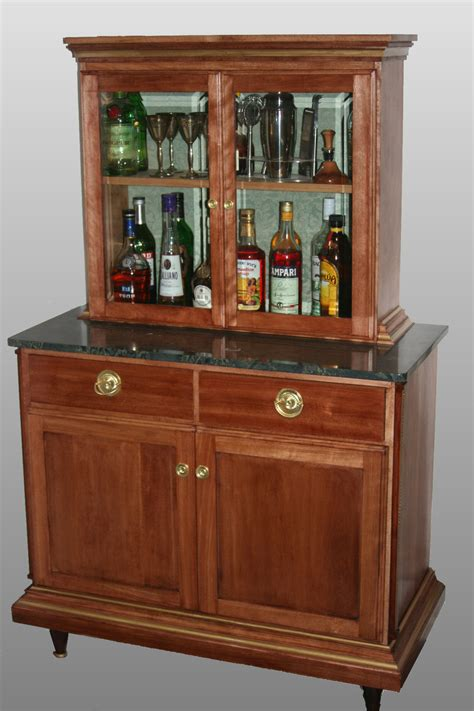 Liquor Storage Cabinet Retro Liquor Cabinet Studio Design Gallery Best Design