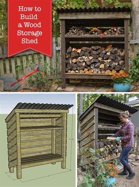 build  wood storage shed pretty handy girl