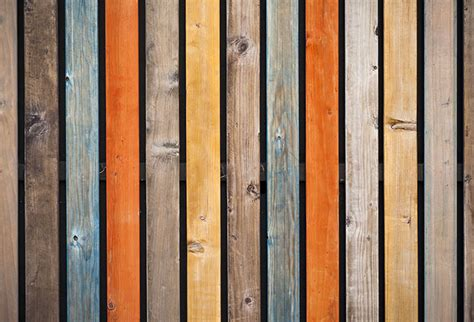 Cladded buy multi colored wood background wall murals in textures