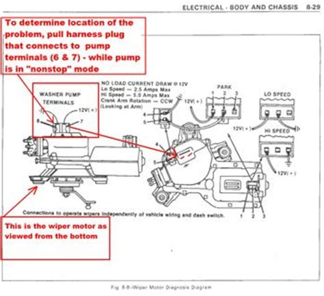 1978 chevy wiper motor wiring wiring diagram with