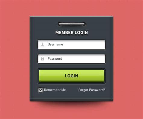 form design of welded members 会员登录表单 素材中国sccnn com
