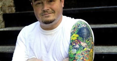 sean brock tattoo detail from the whole sleeve on chef brock