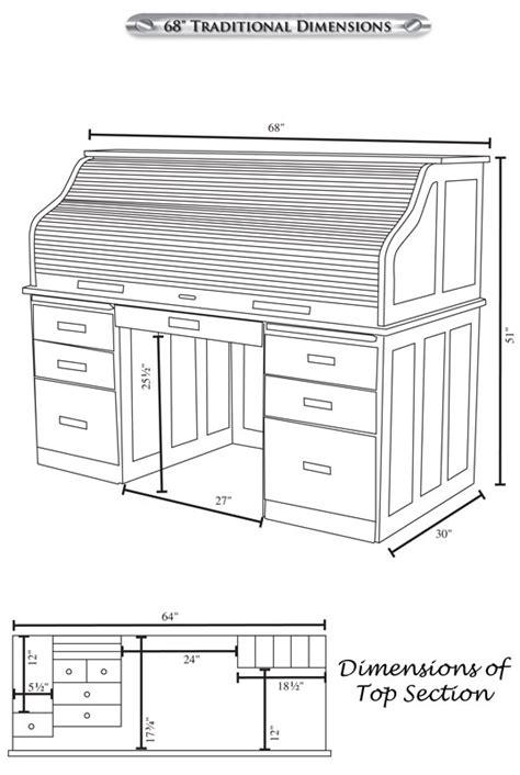 68 quot traditional computer roll top desk ohio hardwood