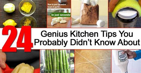 genius kitchen 24 genius kitchen tips you probably didn t know about