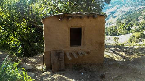 Menstrual Shed by A Died In A Menstrual Shed In Nepal Goats