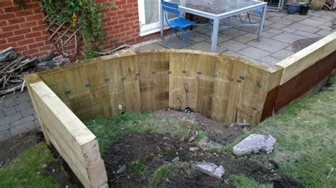 New Sleepers For Garden by Railway Sleeper Landscaping