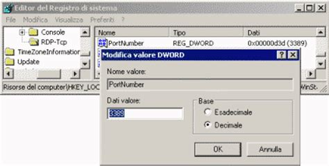 cambiare porta desktop remoto dotnethell it tips tricks come cambiare la porta dei