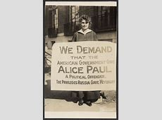 [Lucy Branham protests the political imprisonment of Alice ... Hunger Strike