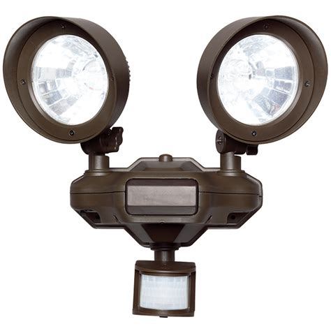 Outdoor Sensor Flood Lights Westinghouse Outdoor Led Motion Sensor Security Flood Light Bronze Ebay