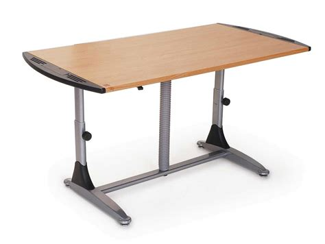 Adjustable Height Computer Desk Homefurniture Org Ergonomic Height Adjustable Desk