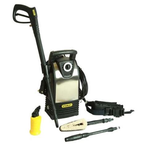 stanley 1600 psi 1 4 gpm electric pressure washer with