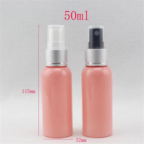Pink Purple Botol 50ml 50ml x 50 empty travel size spray bottle 50cc refillable makeup setting spray pink mist spray